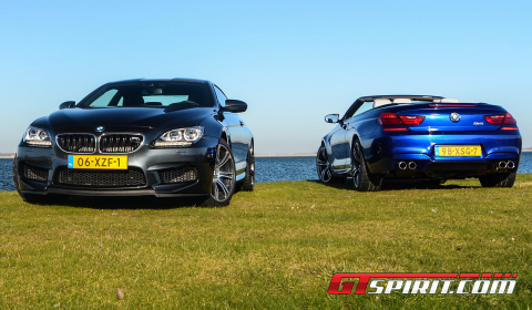 Road Test 2012 BMW M6 Coupe vs M6 Convertible