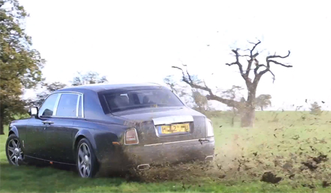 Rolls Royce Phantom rally car