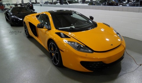 Spotted Two of Six McLaren 12C Project Alpha's Captured