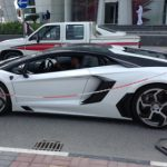 Spotted White Mansory Aventador Nr 02 in Qatar