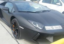 Supercars Seized by the British Police