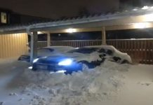 Nissan GT-R Shows Swedish Snow Who's Boss