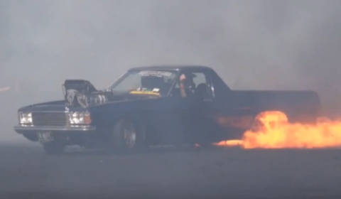 Video BLNUTE Ignites and Burns Rubber at Springnats