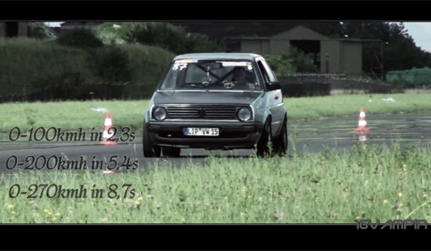 Video Of The Day World S Fastest Vw Golf With 1 013hp Gtspirit