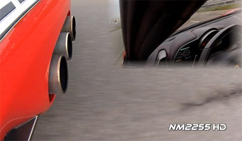 Ferrari 458 Italia Exhaust Note GoPro Hero HD 3
