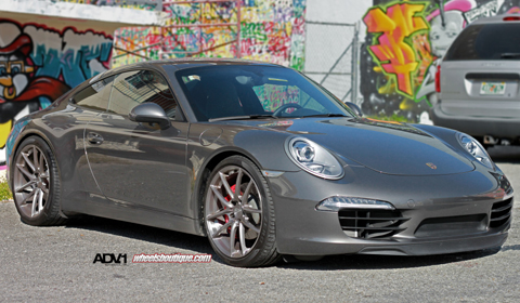 Porsche 911 Carrera S on ADV5.01 SL wheels