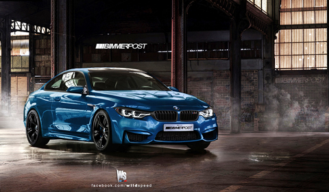 Rendering: 2014 BMW E82 M4 by Wildspeed