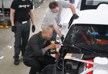SRT CEO Ralph Gilles helps build Viper GTS