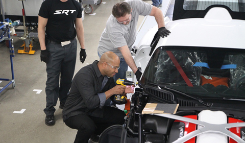 SRT CEO Ralph Gilles helps build Viper GTS