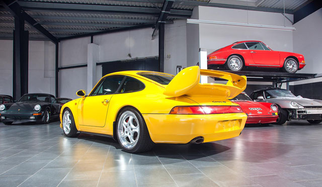 For Sale 1995 Porsche 911 Carrera RS in Germany