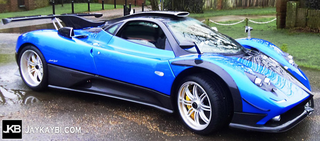 Redesigned Pagani Zonda PS Spied for the First Time