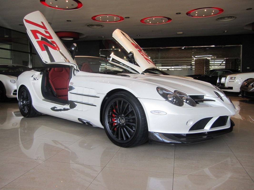 for sale 2009 mercedes benz slr mclaren roadster 722 s in
