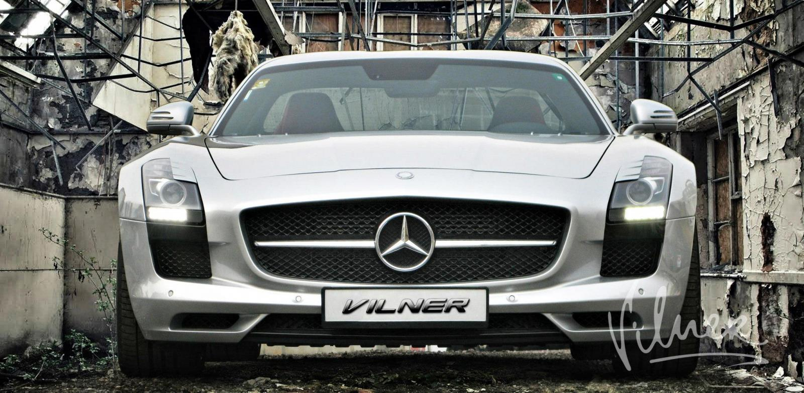 Mercedes-Benz SLS AMG GT With Upgraded Interior by Vilner - GTspirit
