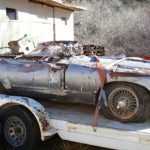 Wrecked Jaguar XKE Coupe Sells for Just $7,601