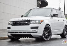 2013 Range Rover with CEC Wheels