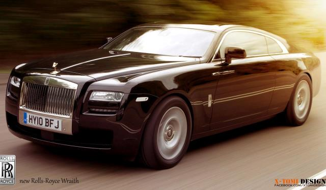 2013 Rolls-Royce Wraith by X-Tomi