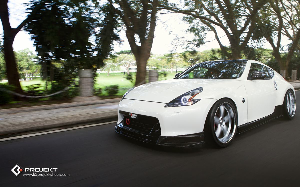 2009 Nissan 370z Touring With Sport Package By K3 Projekt