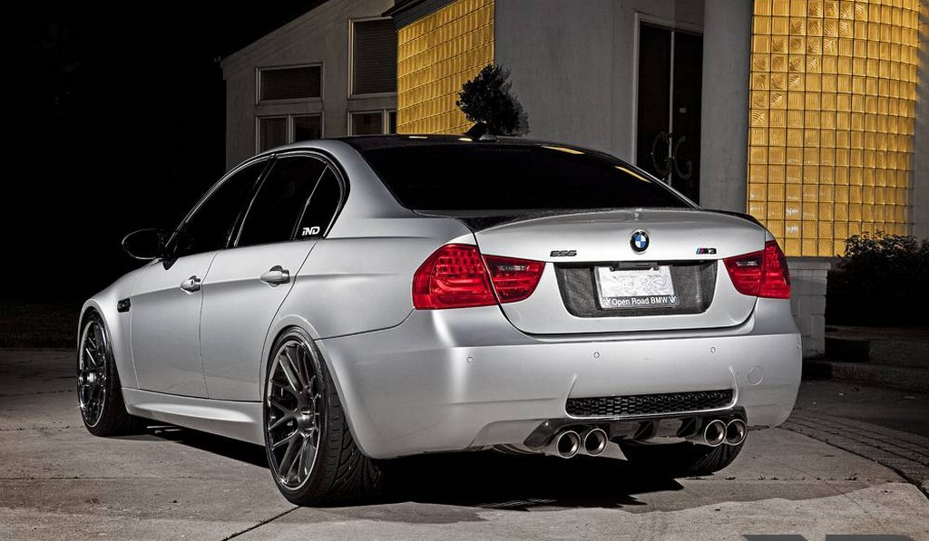 Supercharged BMW E92 M3 by iND Performance on ADV 1 Wheels