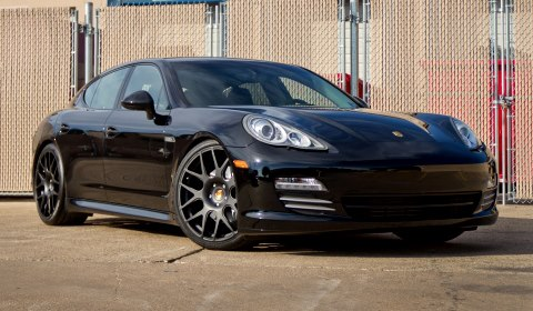 Porsche Panamera On 22 Inch B1 Modulare Forged Wheels