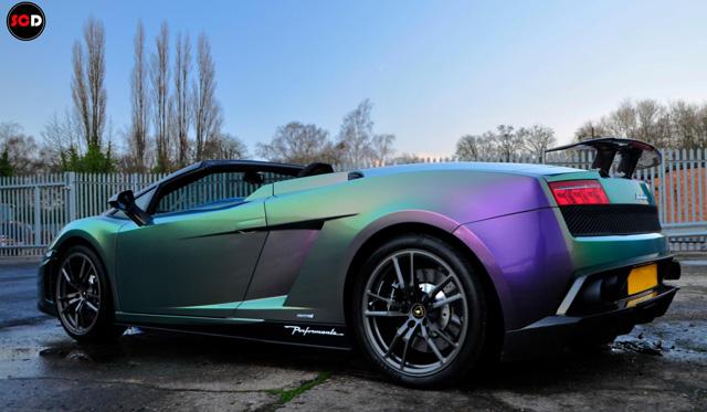 Video Wrapped Lamborghini Gallardo Lp570 Performante In Tvr Colors