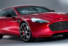 Render: Aston Martin Rapide Shooting Brake by Theophilus Chin