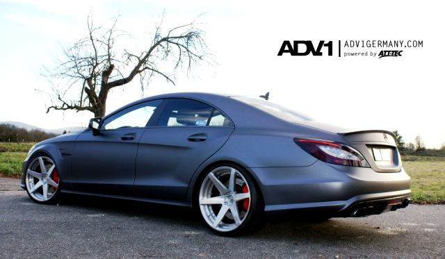 Mercedes benz cls 63 amg on adv6 wheels gtspirit for Mercedes benz 20 inch wheels