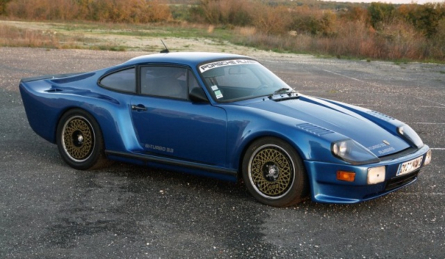 For Sale: Unique 1983 Porsche 911 Almeras 3.3 Liter Twin Turbo ...