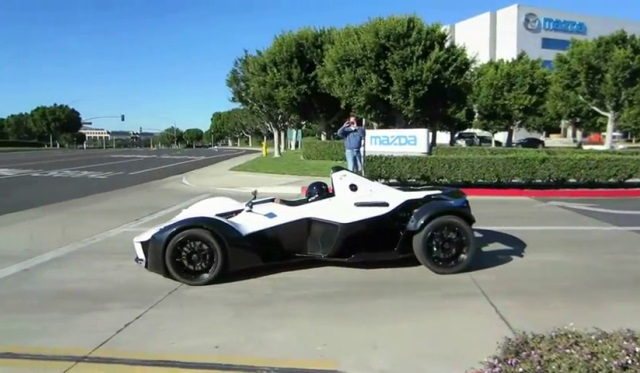 BAC Mono Debuts in the US