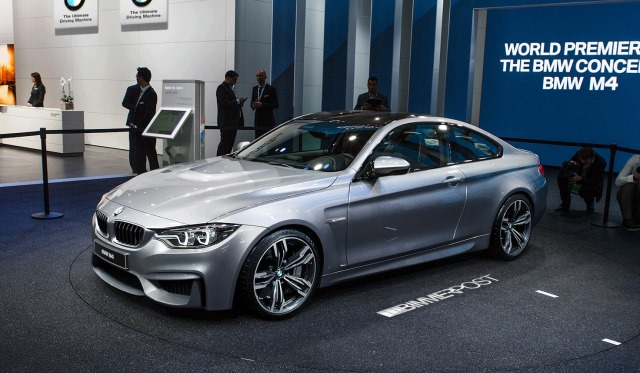 BMW M4 Coupe (F82) Render