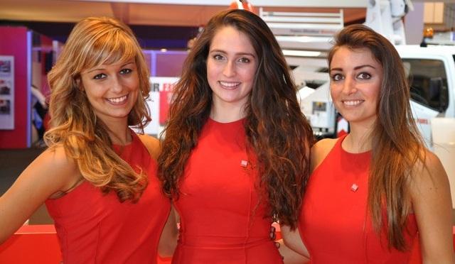 2013 Brussels Motor Show Girls