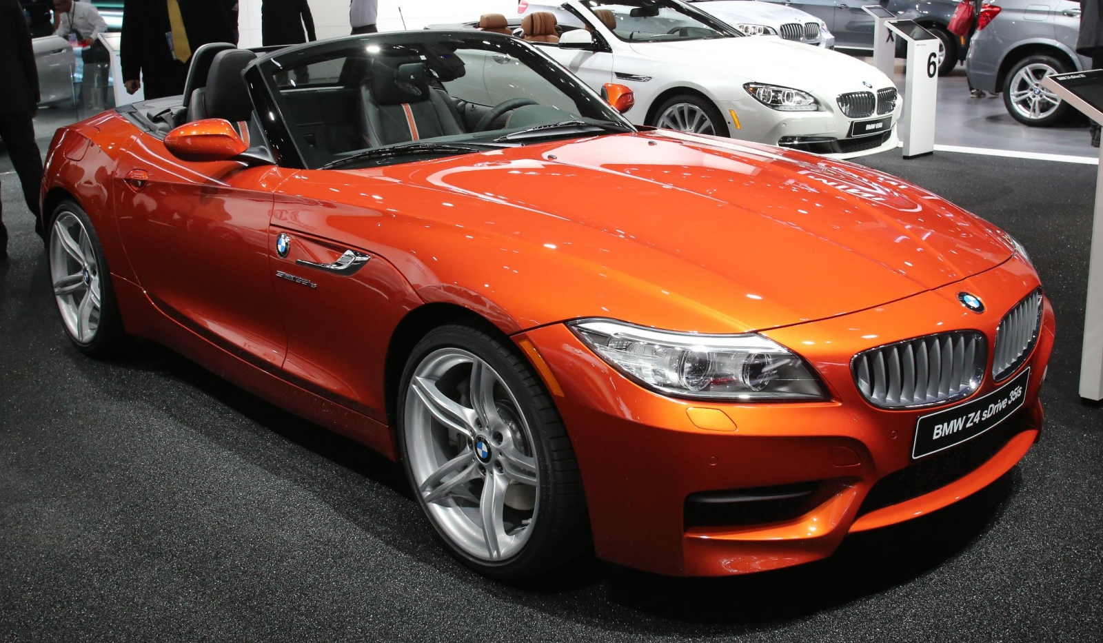 Detroit 2013 Bmw Z4 Roadster Facelift Gtspirit