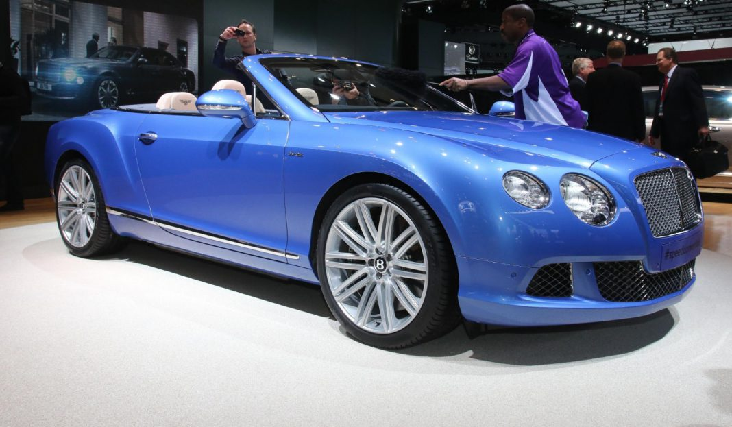 Detroit 2013 Bentley Continental GT Speed Convertible