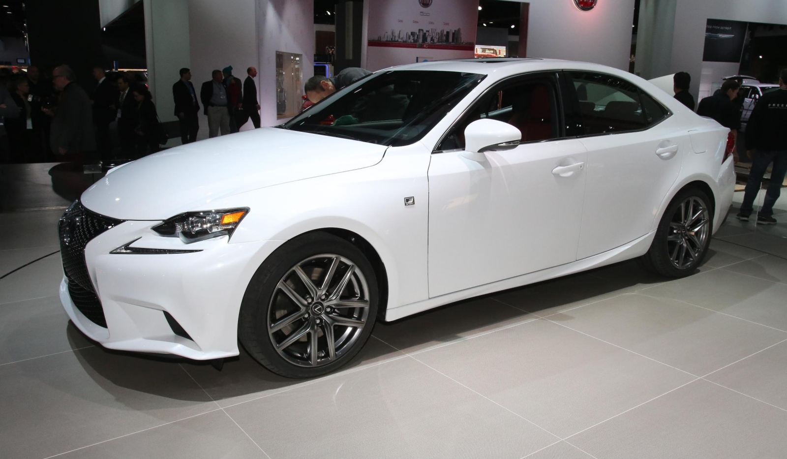 Detroit 2013 Lexus IS F Sport