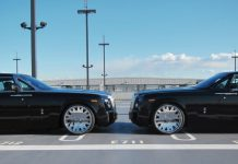Duo of Black Rolls-Royce Phantoms by Office-K
