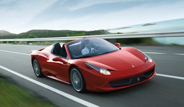 Ferrari 458 Spider Named U201cBest Convertibleu201d By Auto Motor Und Sport