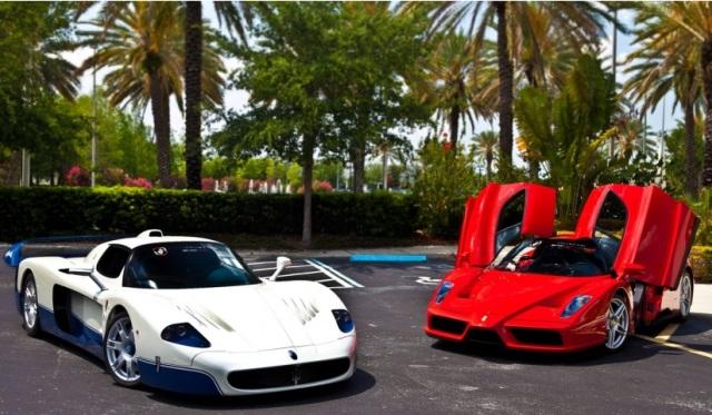 Ferrari and Maserati Sales Decline in Italy