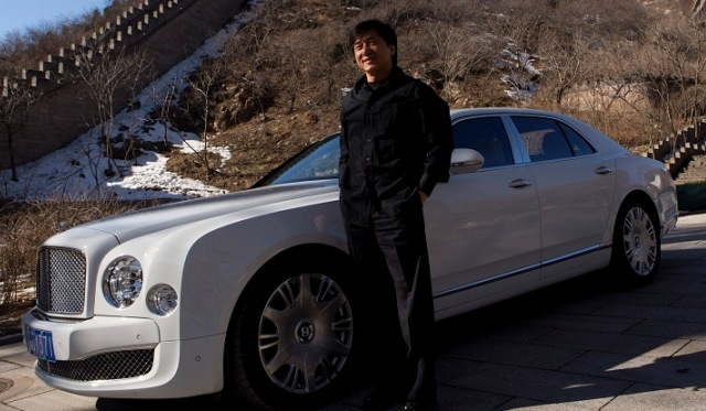 Jackie Chan Drives the Bentley Mulsanne in Visionary Film