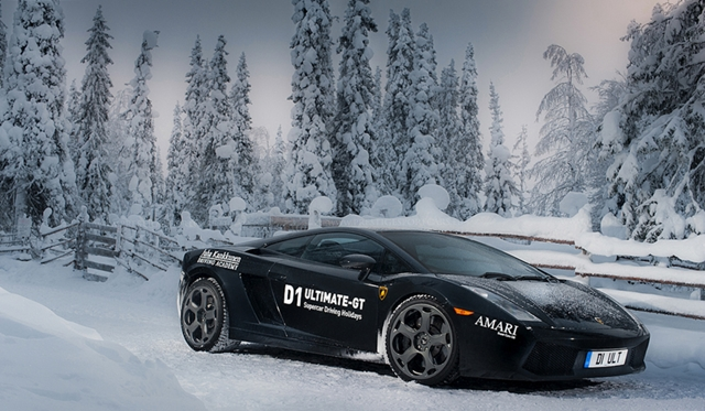 Supercar Ice Driving Event In Finland by D1 Ultimate-GT