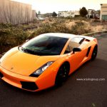 Orange Lamborghini Gallardo by SR Auto Group