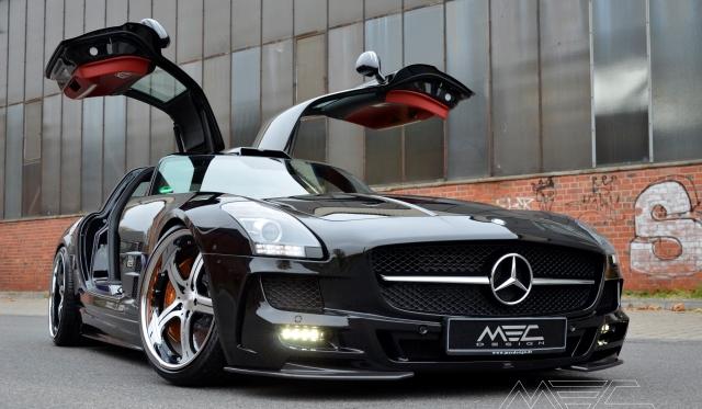 Revisited Mercedes Benz Sls Amg By Mec Design Gtspirit
