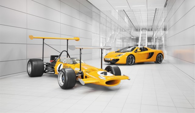 McLaren Celebrates its 50th Anniversary