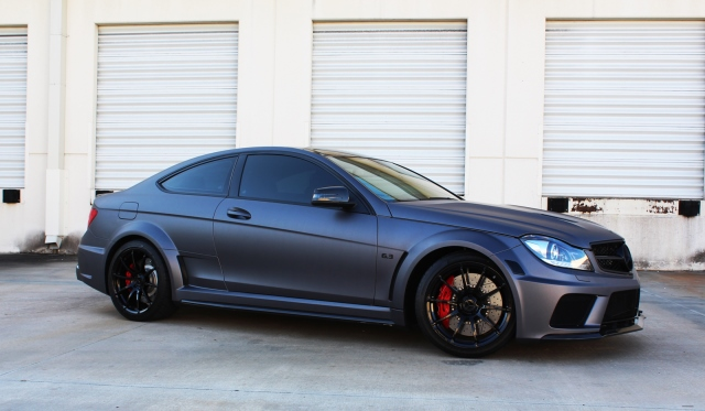 2013 mercedes benz c63 amg black series by superior automotive design - Mercedes Benz C63 Amg Black Series White