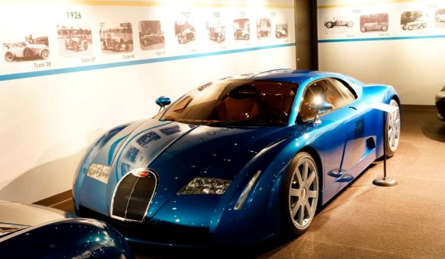 mullin automotive museum has 25 bugatti models covering 70 years of