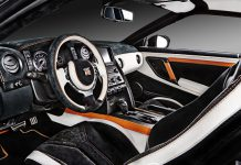 Nissan GT-R Orange Edition by Carlex Design