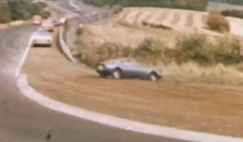 Nurburgring Crashes in 1970 at Adenauer Forst