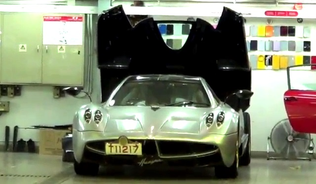 Pagani Huayra in Hong Kong