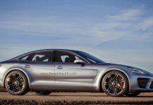 Porsche Panamera Sports Turismo Render