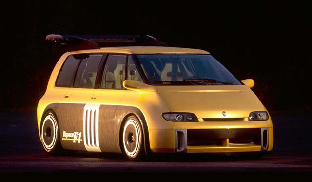 Renault minivan f1