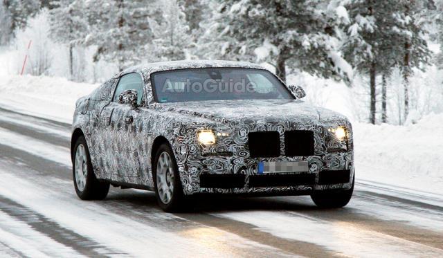 Rolls-Royce Wraith Testing