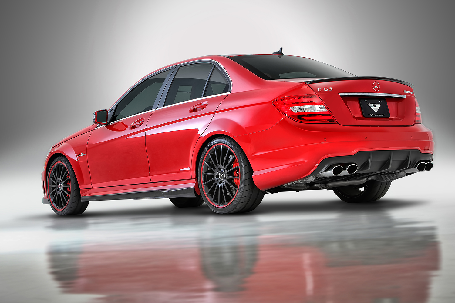 2012 mercedes benz c63 amg sedan by vorsteiner gtspirit - 2012 mercedes c63 amg coupe ...